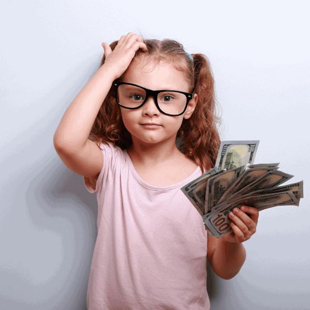 kids spending money