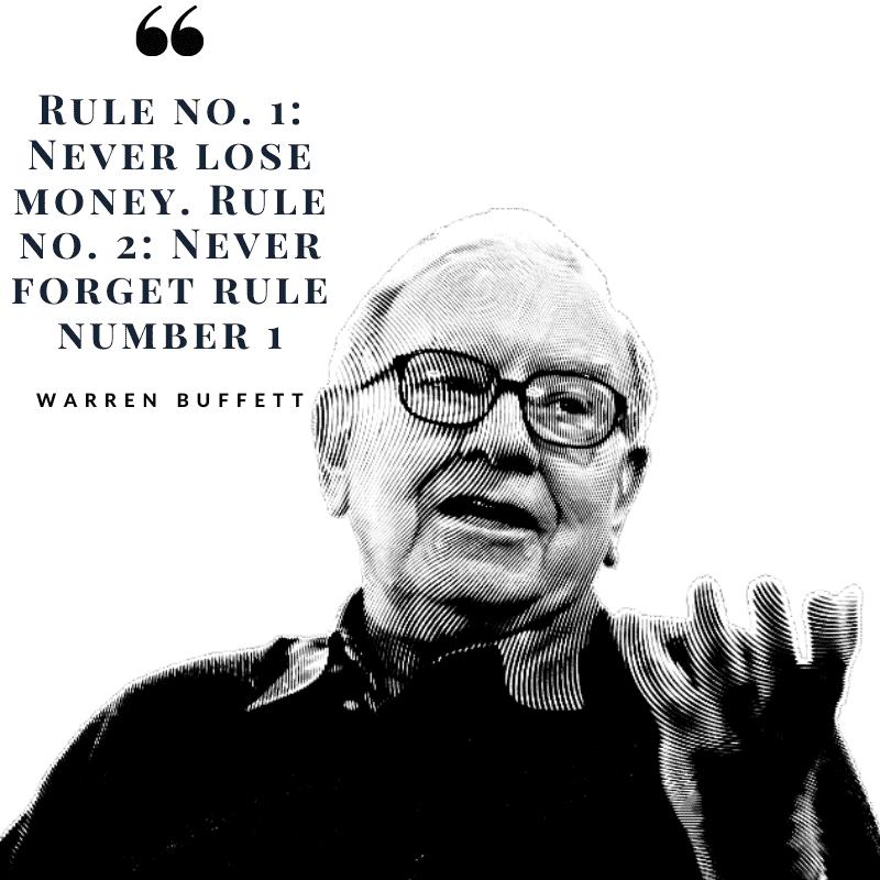 Warren buffett Rule number 1