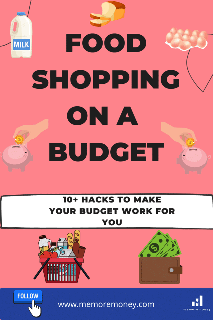 food shopping on a budget