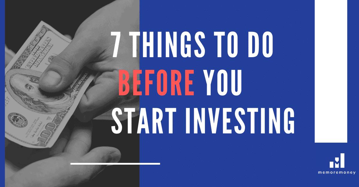 Start investing