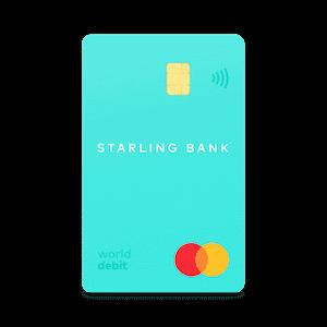 Starling debit card