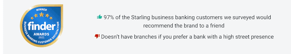 is starling bank legitmate for business