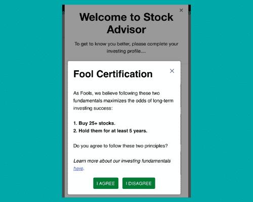 Motley Fool long term investing Stock Advisor