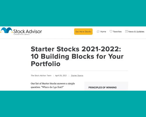 Motley Fool Starter Stocks