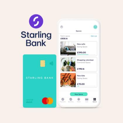 starling bank best digital bank