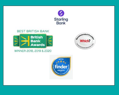starling bank awards