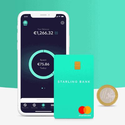 starling bank euro account