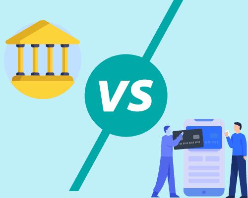 traditional banks vs online banks
