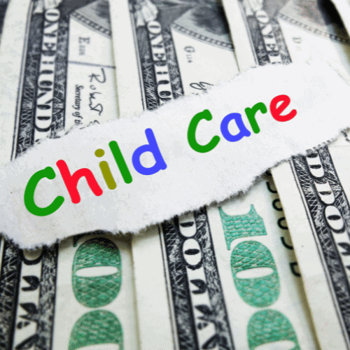 day care cost baby on a budget