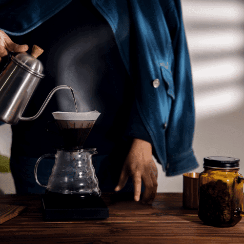 make coffee at home to save money