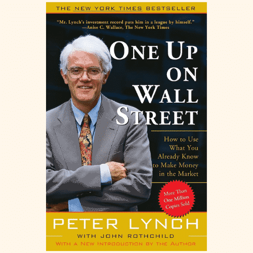 ne Up On Wall Street by Peter Lynch best stock books