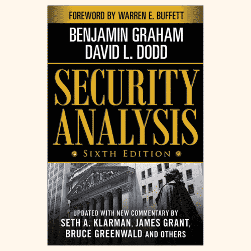 Security Analysis_ Sixth Edition, Foreword by Warren Buffett best investing book