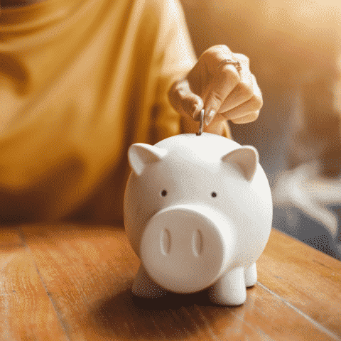 what is a budget showing piggy bank image